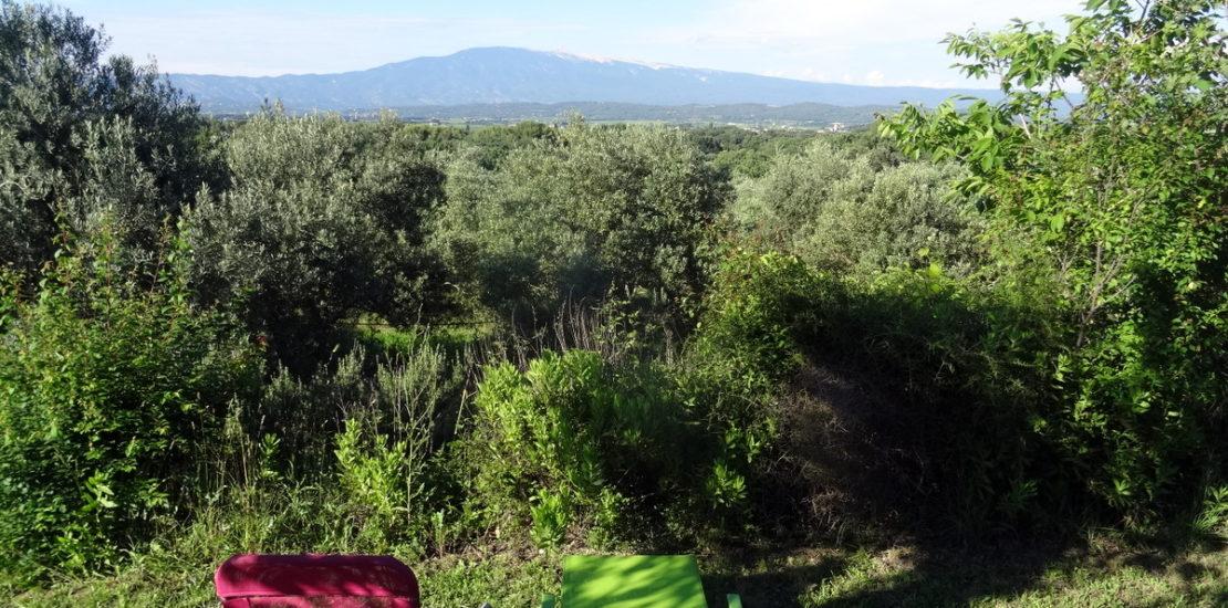 Detente face a u comtat Venaissin dominé par le geant de Provence