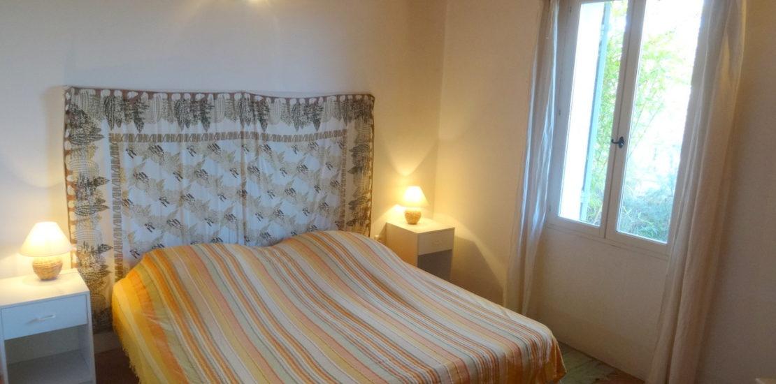 La chambre avec deux lits en 90